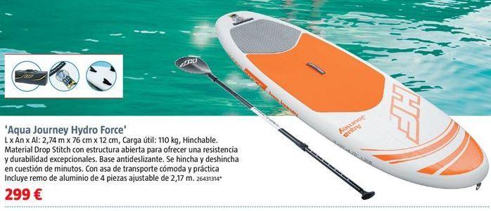 Oferta de Kayak por 299€