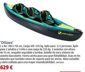 Oferta de Kayak por 629€