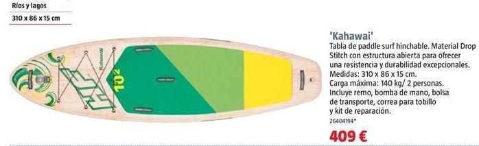 Oferta de Tabla de surf por 409€