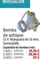 Oferta de Bomba de achique por 31,95€