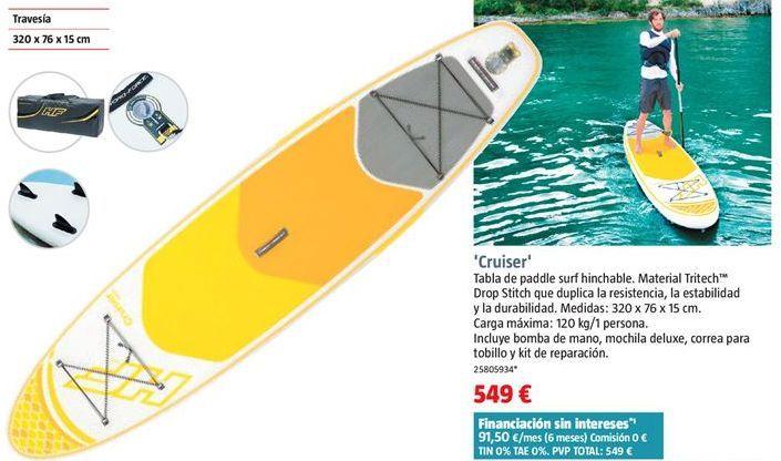 Oferta de Tabla de surf por 549€
