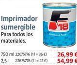 Oferta de Imprimación por 26,99€