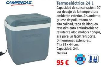 Oferta de Nevera termoeléctrica por 95€