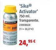 Oferta de Masilla sika por 24,95€