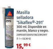 Oferta de Masilla selladora sika por 15,99€