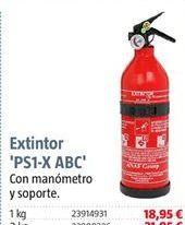 Oferta de Extintor de coche por 18,95€