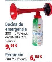 Oferta de Bocina por 9,95€