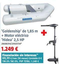 Oferta de Barca hinchable por 1249€