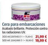 Oferta de Ceras por 21,99€