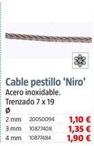 Oferta de Cables por 1,1€