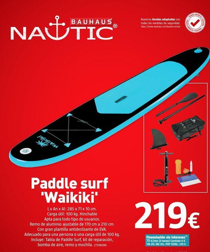 Oferta de Tabla de surf por 219€