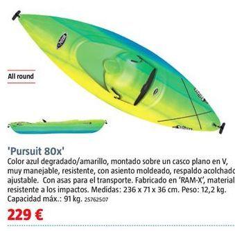 Oferta de Kayak por 229€
