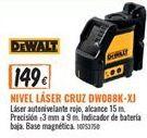 Oferta de Nivel láser Dewalt por 149€