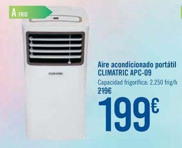 Oferta de Aire acondicionado portátil CLIMATRIC APC-09 por 199€