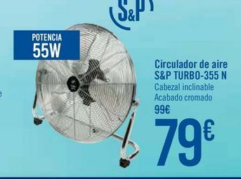 Oferta de Circulador de aire S&P TURBO-355 N por 79€