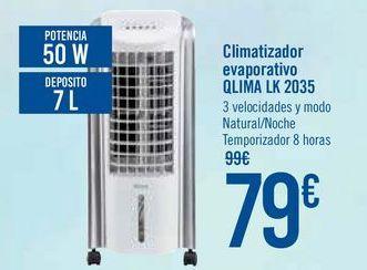 Oferta de Climatizador evaporativo QLIMA LK 2035 por 79€
