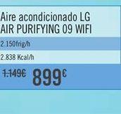 Oferta de Aire acondicionado LG AIR PURIFYNG 09 WIFI por 899€