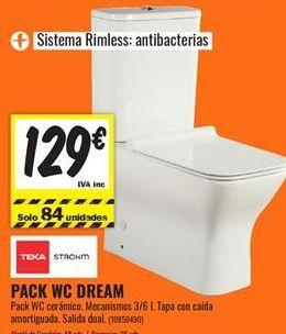 Oferta de Wc Teka por 129€
