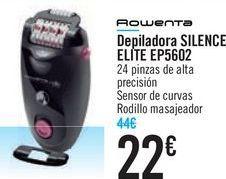 Oferta de Depiladora SILENCE ELITE EP5602 ROWENTA  por 22€