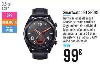 Oferta de Smartwatch GT SPORT por 99€