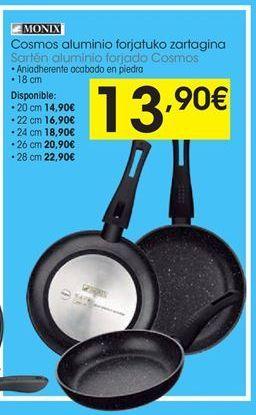 Oferta de Sartén de aluminio Monix por 13,9€