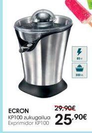 Oferta de Exprimidor Ecron por 25,9€