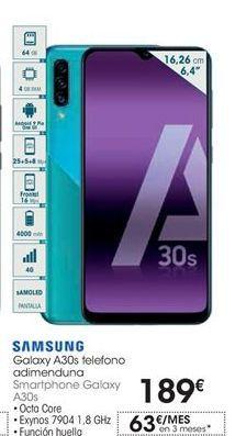 Oferta de Smartphones Samsung por 189€