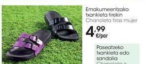 Oferta de Chanclas mujer por 4,99€