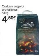 Oferta de Carbón vegetal por 4,5€