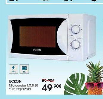Oferta de Microondas Ecron por 49,9€