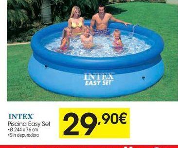 Oferta de Piscinas Intex por 29,9€