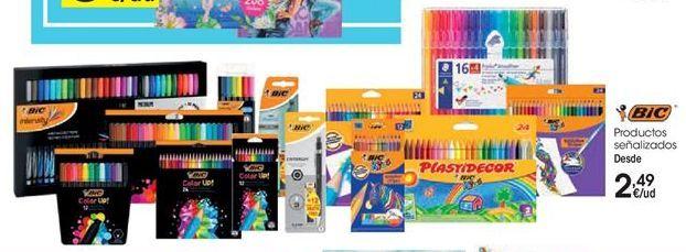 Oferta de Colores y pinturas BIC por 2,49€