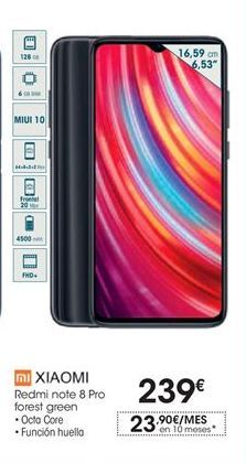 Oferta de Smartphones Xiaomi por 239€
