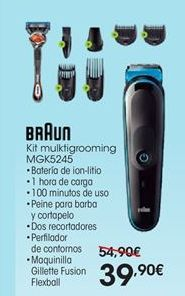 Oferta de Cortapelos Braun por 39,9€