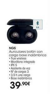 Oferta de Auriculares bluetooth NGS por 39,9€