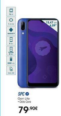 Oferta de Smartphones SPC por 79,9€