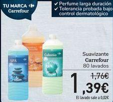Oferta de Suavizantes Carrrefour  por 1,39€