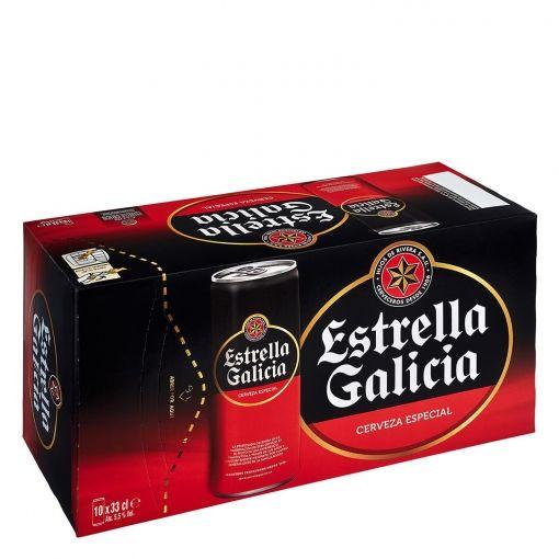 Oferta de Cerveza ESTRELLA GALICIA  por 6,22€