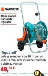 Oferta de Carro portamangueras Gardena por 49,95€