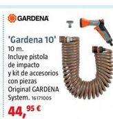 Oferta de Manguera espiral Gardena por 44,95€