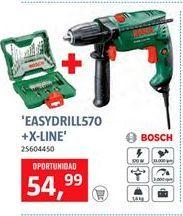 Oferta de Taladro percutor Bosch por 54,99€