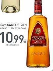 Oferta de Ron Cacique por 10,99€