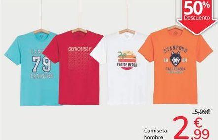 Oferta de Camiseta hombre por 2,99€