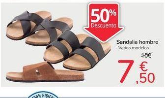 Oferta de Sandalias hombre por 7,5€
