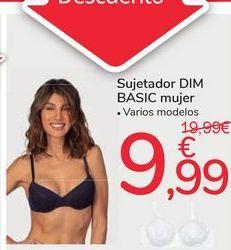 Oferta de Sujetador DIM Basic mujer por 9,99€