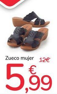 Oferta de Zueco mujer por 5,99€