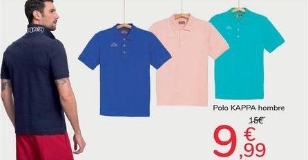 Oferta de Polo Kappa hombre por 9,99€