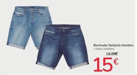 Oferta de Bermuda fantasía hombre por 15€