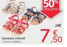 Oferta de Sandalia infantil por 7,5€