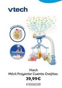 Oferta de Vtech Móvil Proyector Cuenta Ovejitas por 39,99€